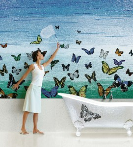 Butterfly and bathtub Sultan02_BATH AND MORE COLLECTION BY SICIS