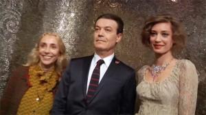 Franca Sozzani, Leo Placuzzi, Margareth Madè at SICIS event