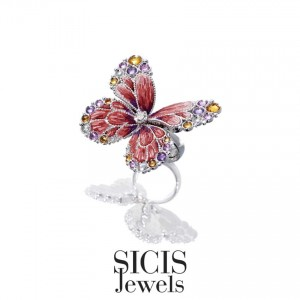 SICIS Jewels Ring RN 42 Papillon Royal