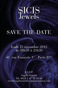 STD SICIS Jewels Opening Parigi 2012