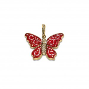 Butterfly charm Limited edition for Christmast by SICIS Jewels cover