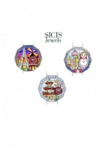 Draft Grand Tour by SICIS Jewels