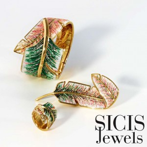 Roger Thomas for SICIS Jewels Piuma