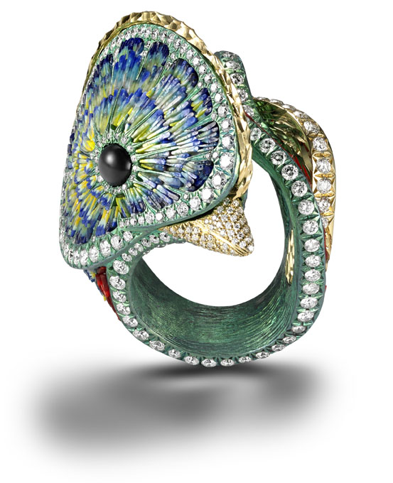 Quetzal Ring SICIS Jewels