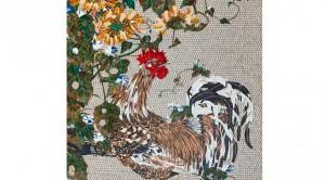 SICIS Jakuchu Rooster Sunflower