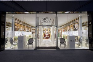 SICIS Jewels stand at Baselworl 2013