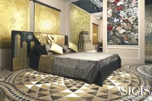 SICIS at Downtown design - Paesaggio Italiano bed