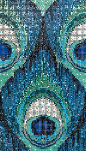 SICIS iPIX Collection Pavo Real Blue