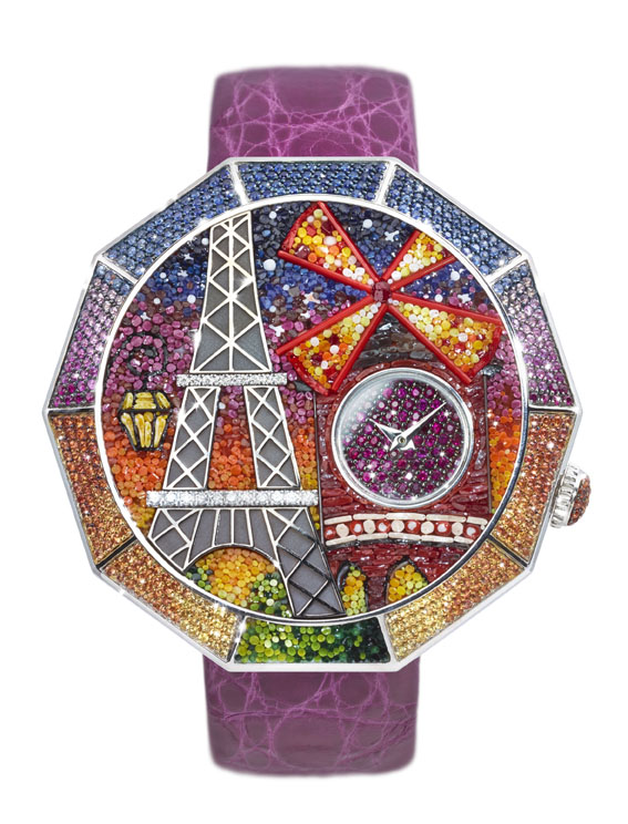 Sicis O'Clock_Watch France COVER