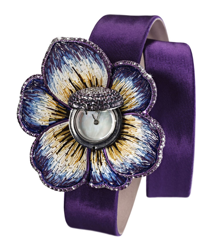 Sicis O'Clock_Watch Violet Gardenia COVER