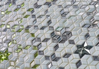 diamond tiles mosaic