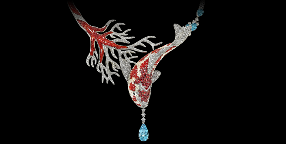 Koi necklace