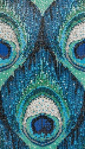 I'Pix Collection by Sicis_Pavo Real Blue - Modulo (4x7-15)