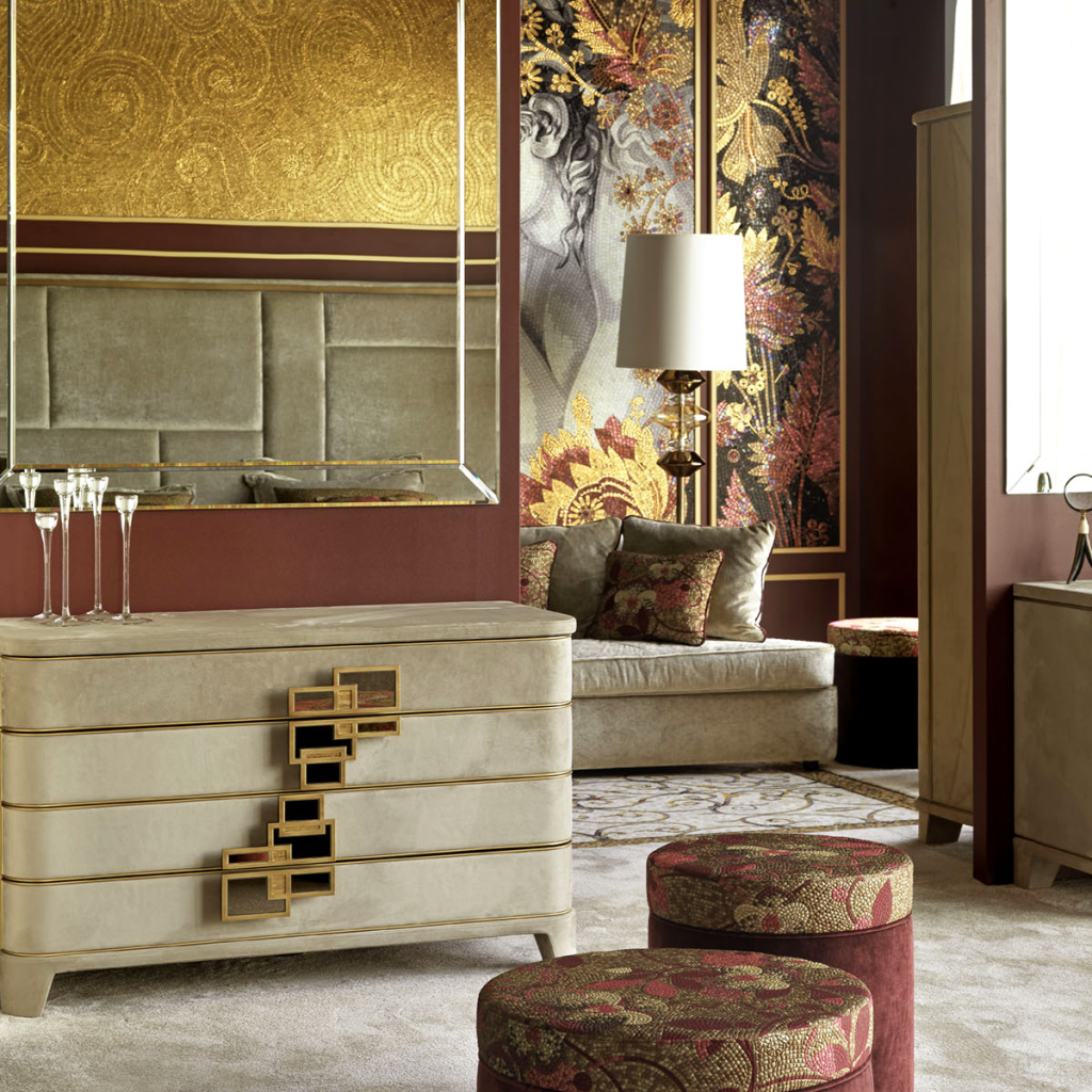 sicis texture livingroom luxury