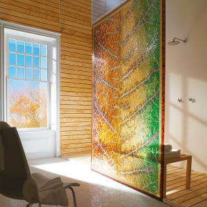 sicis mosaic greenery interiordesign luxury