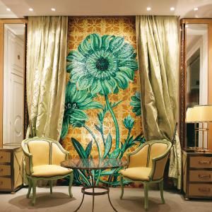 mosaic greenery interiordesign home