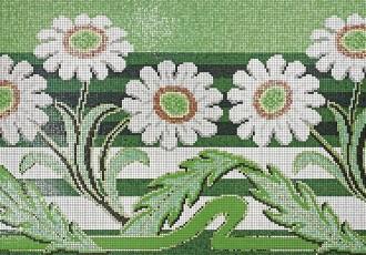 sicis greenery mosaic pantone