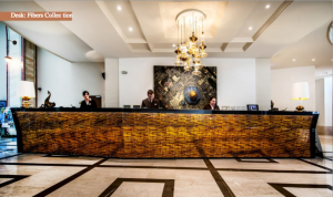 mosaic special guest of the Continental Hotel Budapest