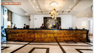 Our mosaic special guest of the Continental Hotel Budapest