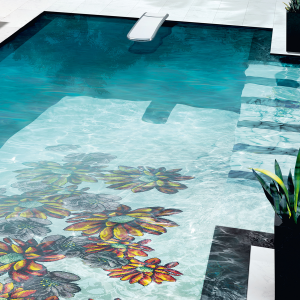 sicis mosaic pool tropical