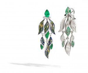 ER 45 Fern Green Earrings SDW5