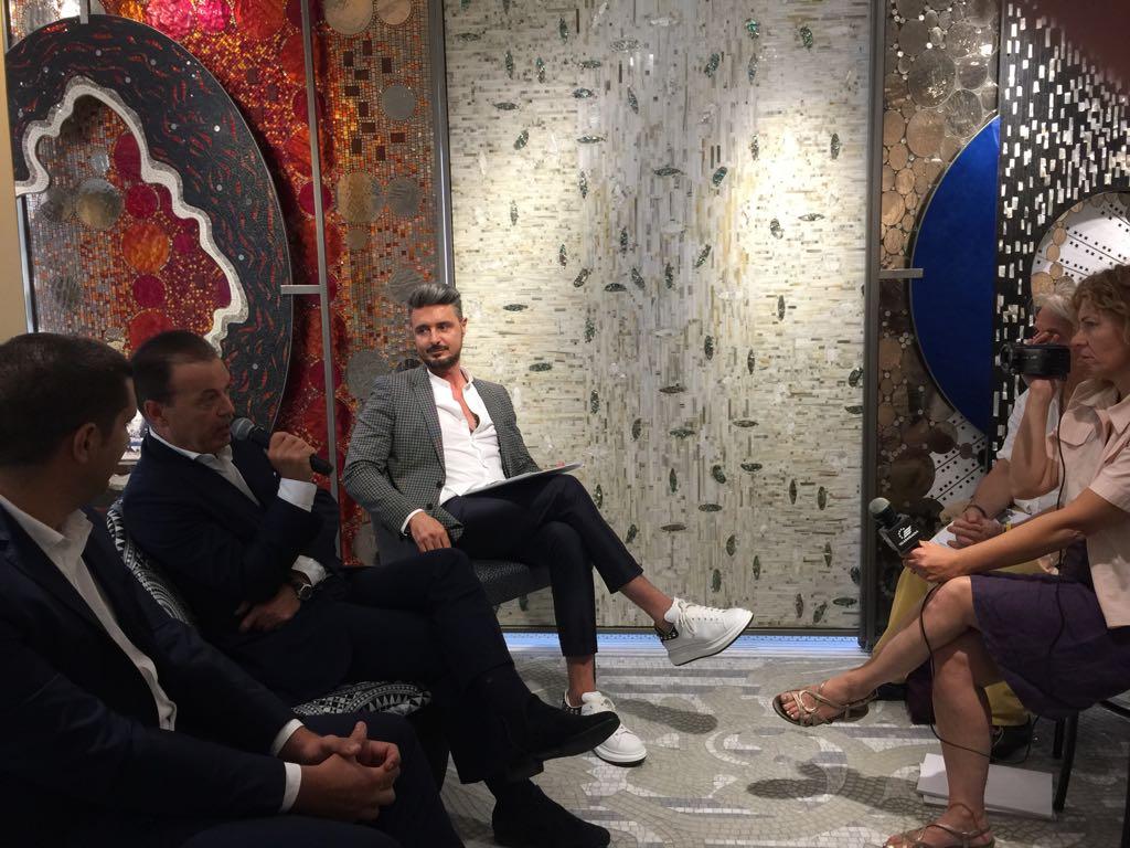 sicis ravenna showroom milan mosaic