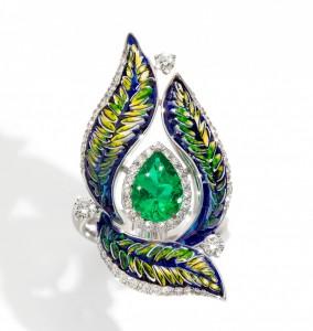 green fern parure luxury sicis