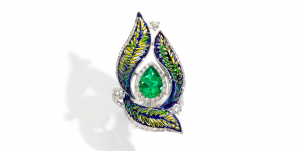 ring green sicis mosaic luxury jewelry