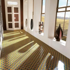 sicis floor mosaic villa
