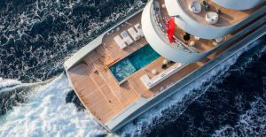 sicis mosaic pool yacht luxury