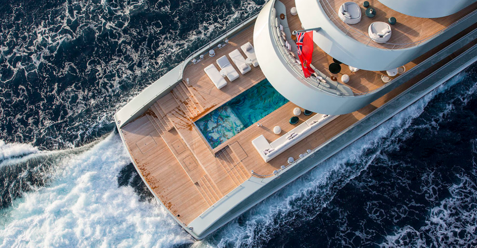 sicis mosaic pool yacht luxury
