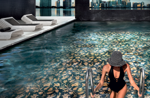 mosaic pool interior design