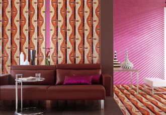 mosaic pattern pink home decor