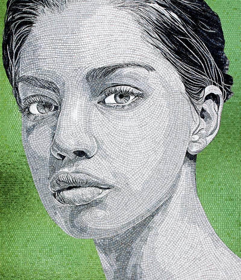 portrait mosaic sicis