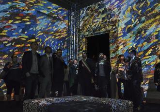 sicis destination micromosaic mosaic exhibition