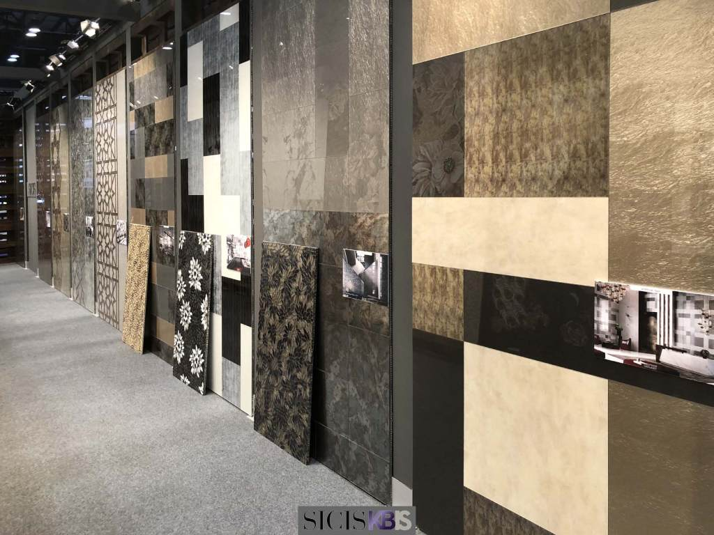 sicis kbis 2018 mosaic surface interior design vetrite