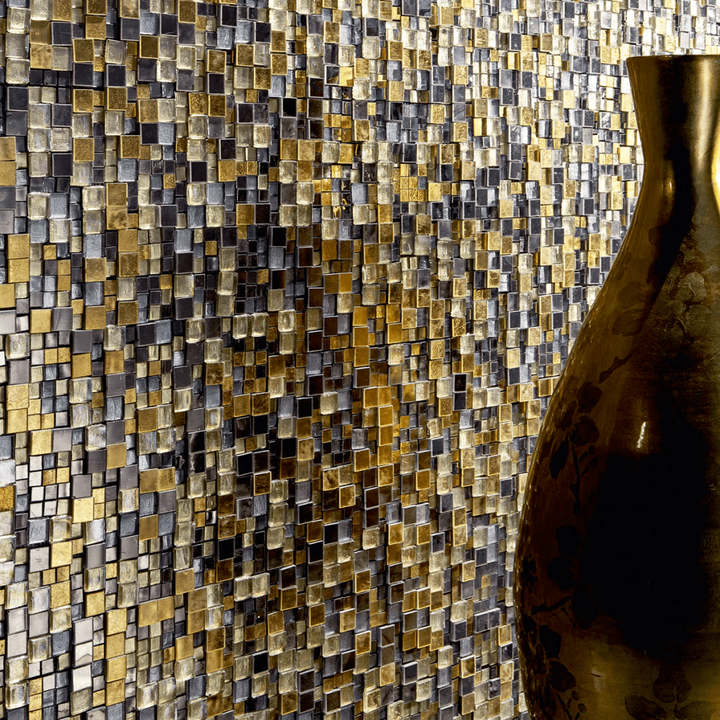 color inspiration 2018 sicis mosaic black gold
