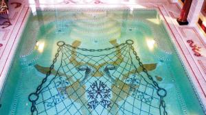 mosaic pool hotel hospitality