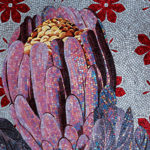 violet mosaic pantone sicis