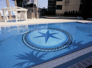 sicis pool mosaic luxury hotel design