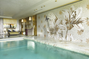 sicis indoor mosaic pool design