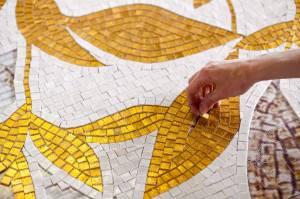 sicis rose mosaic china