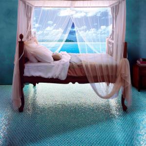 sicis mosaic bedroom blue color