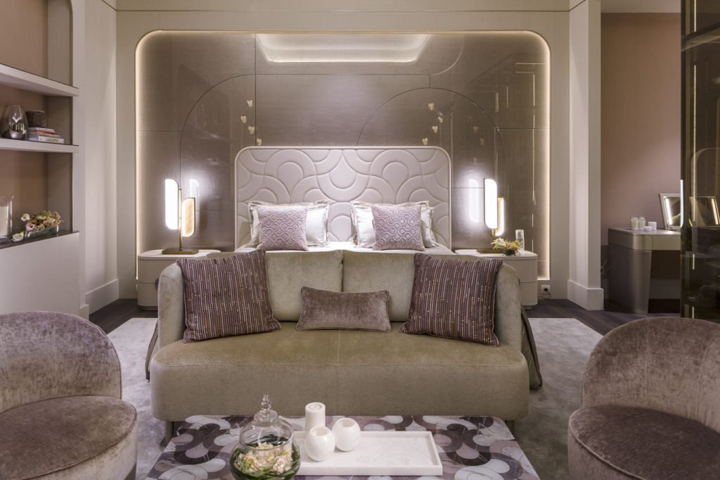 Sicis Salone Mobile 2018 bedroom